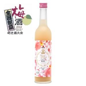 中田食品 とろこく桃姫 桃たっぷり梅酒500ml|tsutsu-uraura