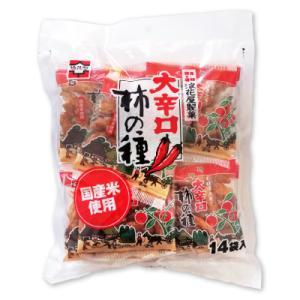 浪花屋製菓 大辛口柿の種 徳用袋 224g 16g×14袋入...