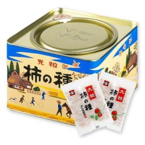浪花屋製菓 大粒柿の種 進物缶 20g×12袋