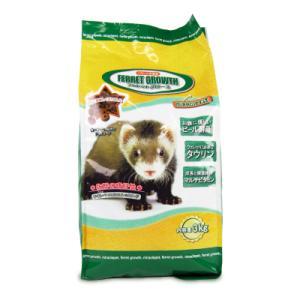 ニチドウ フェレットグロース 3kg 日本動物薬品|にっぽん津々浦々