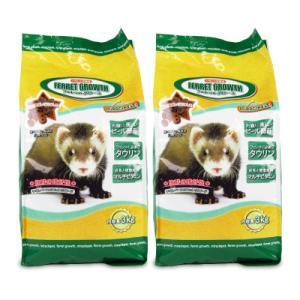 ニチドウ フェレットグロース 3kg × 2袋 日本動物薬品|tsutsu-uraura