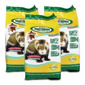ニチドウ フェレットグロース 3kg × 3袋 日本動物薬品|tsutsu-uraura