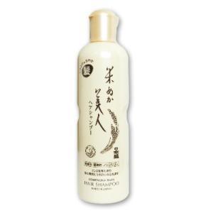 日本盛 米ぬか美人 ヘアシャンプー 335ml|tsutsu-uraura