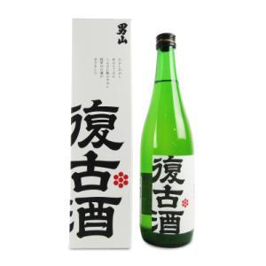 男山 復古酒 化粧箱入り  720ml  清酒 男山 北海道|tsutsu-uraura