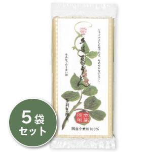 坂利製麺所 手延べ葛うどん 200g × 5袋