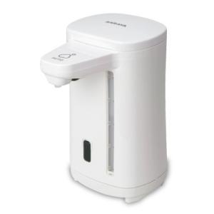 ELEFOAM Potは触れることなく、手をかざすだけで自動的に泡状のハンドソープ、または食器用洗剤...