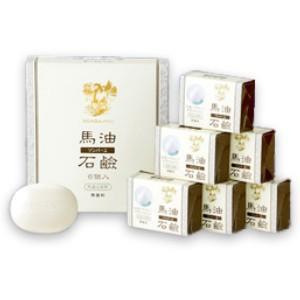 ソンバーユ 馬油石鹸 [無香料] 85g 6個入 薬師堂|tsutsu-uraura