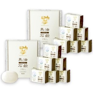 ソンバーユ 馬油石鹸 [無香料] 85g 6個入 × 2箱 薬師堂|tsutsu-uraura