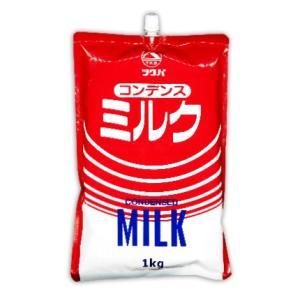 筑波乳業 コンデンスミルク スパウトパウチ 1Kg|tsutsu-uraura