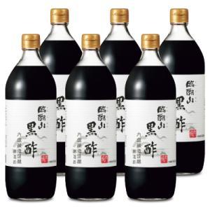 内堀醸造 臨醐山黒酢 900ml × 6本