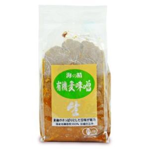 有機JAS 海の精 国産有機・麦味噌1kg|tsutsu-uraura