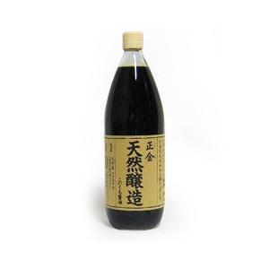 正金醤油 天然醸造こいくち醤油 1000ml|tsutsu-uraura