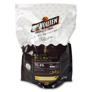 バンホーテン プロフェッショナル エキストラダークチョコレート 70% 1kg