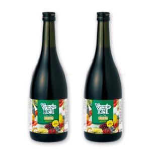 ベジーデル酵素液 720ml 2本セット [ビューティープランニング]【酵素 ドリンク ダイエット ファスティング飲料】|tsutsu-uraura