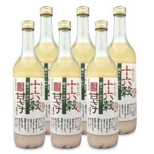 送料無料 山口酒造場 おいしい雑穀甘酒 720ml × 6本|tsutsu-uraura