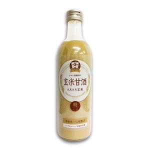 YAMATO 玄米甘酒 490ml ヤマト醤油味噌|tsutsu-uraura