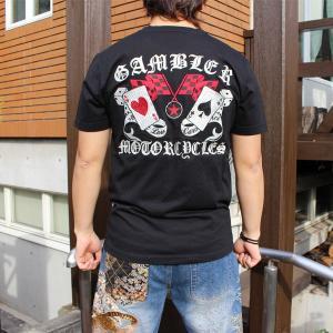 和柄 Tシャツ 半袖 刺繍 メンズ 大きいサイズ 髑髏 2018年新作|tsutsumiya