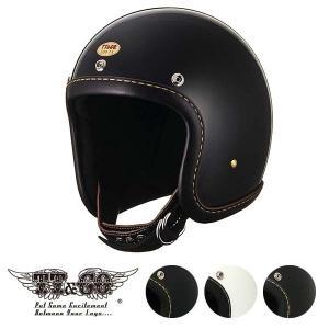 公道使用不可 500-TX レザーリムショット ハンドソウン ブラックレザー スモールジェットヘルメット XS,S,M/L,XL/XXL TT&CO.|ttandco