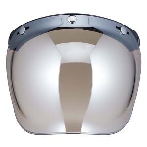 バブルシールド クリアミラー ジェットヘルメット フルフェイス ビンテージ 夜間使用可能 ttandco