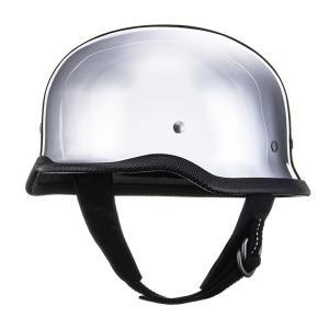 公道使用不可 チョッパー ヘルメット ジャーマン アルミ S/M,L/XL TT&CO.|ttandco