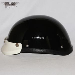 公道使用不可 USA イーグル アイボリーミニバイザー付 ハーフヘルメット S M/L XL/XXL TT&CO.|ttandco