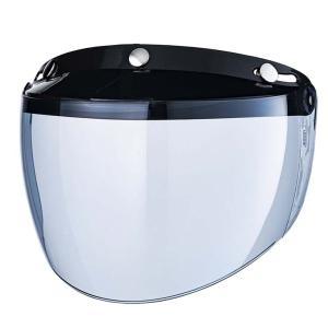 フリップアップシールド ライトスモーク ジェットヘルメット フルフェイス ビンテージ 夜間使用可能