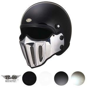マッドマッスク J02 ローマン アルミ マスク付 ジェットヘルメット SG規格|ttandco