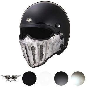 マッドマッスク J02 ローマン アルミ ラスティー マスク付 ジェットヘルメット SG規格|ttandco