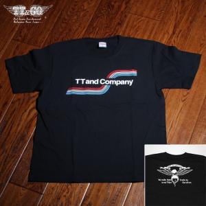 レインボー Tシャツ ブラック バックプリント有|ttandco