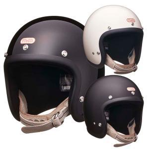 スーパーマグナム ダブルストラップ仕様 アイボリーレザー スモールジェットヘルメット SG/DOT規格品 ttandco