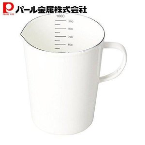 パール金属 計量カップ メジャーカップ 1000ml ホーロー ブランキッチン HB-3683 ttc