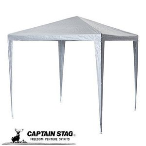 リビングタープ 240cm×240cm キャンプ フリマ イベント ワイルドロッキー WR UVカットSV M-4428 キャプテンスタッグ|ttc