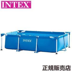 【商品説明】 INTEX社製、組み立て簡単なフレーム式の大型プール。 本体の90%注水で約2,282...