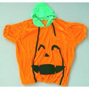 ハロウィン仮装 子供用ハロウィンパンプキン衣装M|ttfs