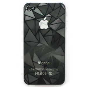 iPhone 4s/iphone4 用 3D ダイヤモンド アンチグレア 液晶保護フィルム (レビューを書いて送料無料)|ttfs