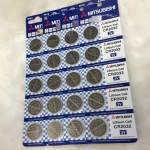三菱 ボタン電池(CR2032)20個セット