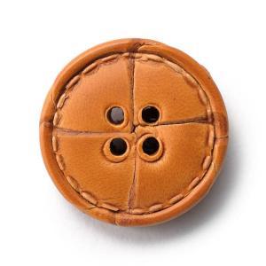本革ボタンLZ1500 20mm  color.01ライトブラウン  コート対応ボタン レザーボタン,皮ボタン老舗テーラー御用達スーツボタン専門店の高級ボタン|ttp