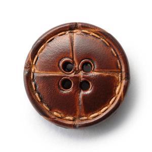 本革ボタンLZ1500 20mm  color.03ブラウン  コート対応ボタン レザーボタン,皮ボタン老舗テーラー御用達スーツボタン専門店|ttp