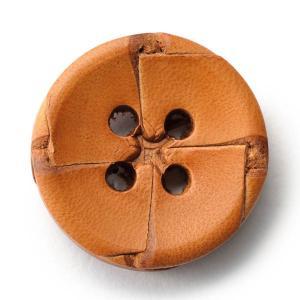 本革ボタンLZ-2200 25mm (color.01ライトブラウン) コート対応ボタン老舗テーラー御用達スーツボタン専門店の高級ボタン|ttp