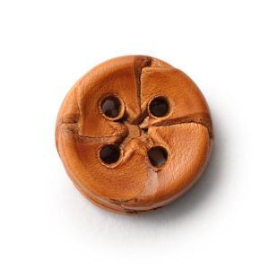 本革ボタンLZ-2200 15mm (color.01ライトブラウン) 袖用ボタン老舗テーラー御用達スーツボタン専門店の高級ボタン|ttp