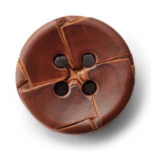 本革ボタンLZ-2200 25mm (color.03ブラウン) コート対応ボタン老舗テーラー御用達スーツボタン専門店の高級ボタン|ttp