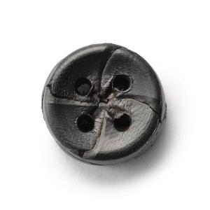 本革ボタンLZ-2200 15mm (color.05ブラック) 袖用ボタン老舗テーラー御用達スーツボタン専門店の高級ボタン|ttp