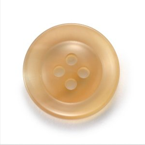 水牛ボタンK-250(COLOR.1)ベージュ20mm 老舗テーラー御用達スーツボタン専門店の高級ボタン ttp