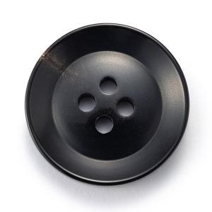 水牛ボタンK-250(COLOR.5)黒25mm 老舗テーラー御用達スーツボタン専門店の高級ボタン ttp