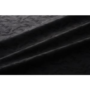 メール便送料無料 9301 カラー90ブラック カモフラージュ柄高級ジャガード裏地 高密度,キュプラ100%,ふじやま織 宅配便は480円|ttp