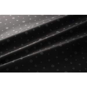 【メール便送料無料】9302(カラー40ダークグレー)水玉柄高級ジャガード裏地(高密度,キュプラ100%,ふじやま織)【宅配便480円】|ttp