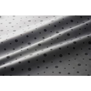 メール便送料無料 9302 カラー41グレー 水玉柄高級ジャガード裏地 高密度,キュプラ100%,ふじやま織 宅配便480円|ttp
