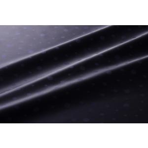 【メール便送料無料】9302(カラー50ダークネイビー)水玉柄高級ジャガード裏地(高密度,キュプラ100%,ふじやま織)【宅配便480円】|ttp