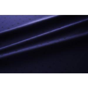 【メール便送料無料】9302(カラー51ネイビー)水玉柄高級ジャガード裏地(高密度,キュプラ100%,ふじやま織)【宅配便480円】|ttp