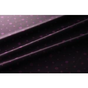 【メール便送料無料】9302(カラー70ダークピンク)水玉柄高級ジャガード裏地(高密度,キュプラ100%,ふじやま織)【宅配便480円】|ttp
